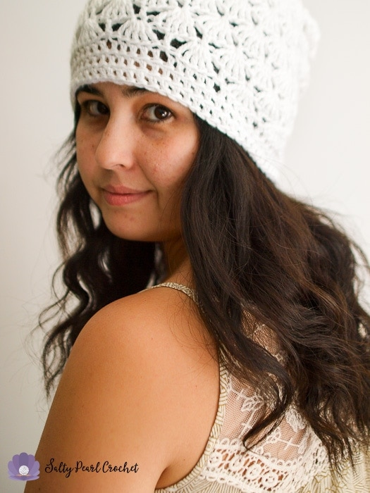 69152125c14 Adding a slouchy crochet hat to my outfit instantly transforms my bed head  into a trendy