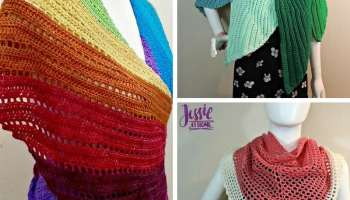 Mermaid Tears Shawl • Salty Pearl Crochet