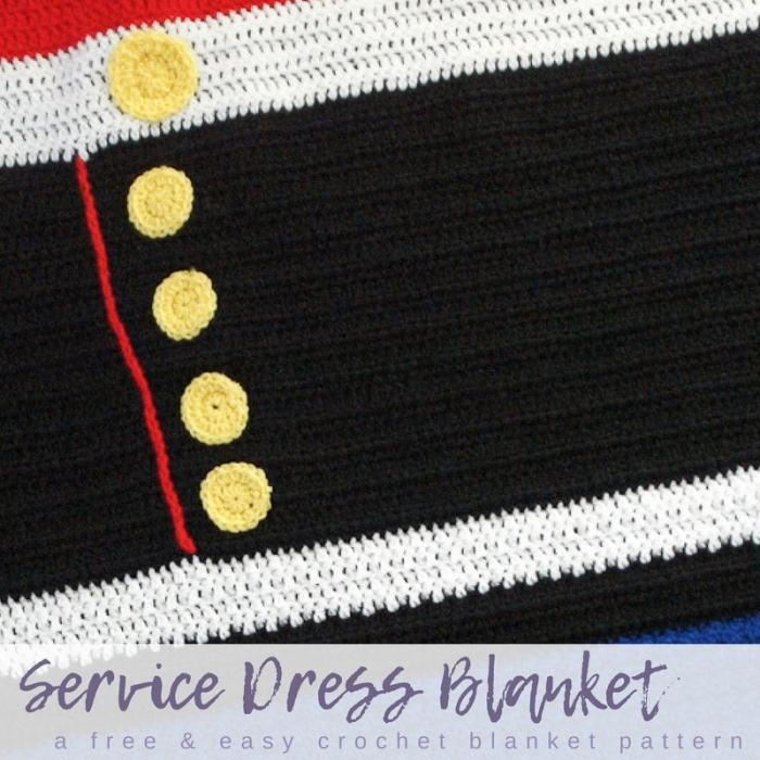 Free And Easy Crochet Blanket Pattern Service Dress Blanket