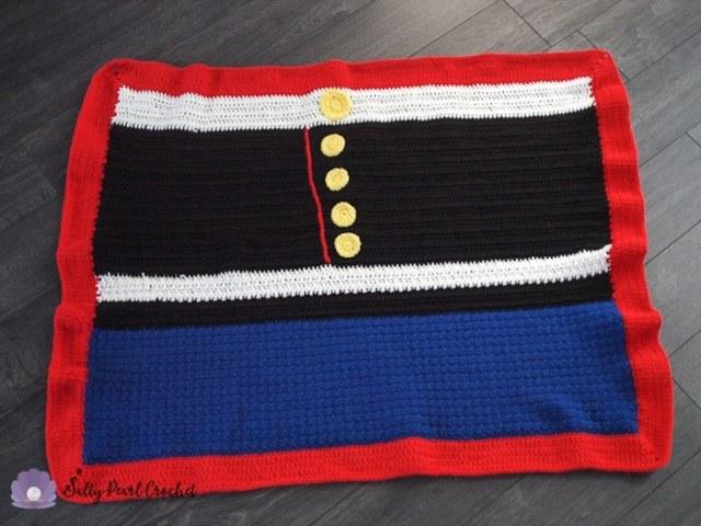 Free And Easy Crochet Blanket Pattern Service Dress Blanket