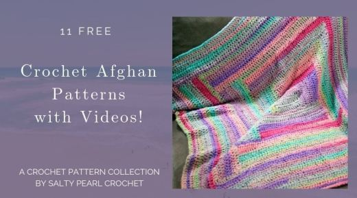 All Free Crochet Afghan Patterns Archives Salty Pearl Crochet