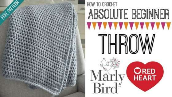 An Easy Crochet Afghan Pattern from Marly Bird