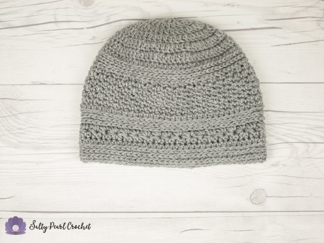 A Silver Mens Crochet Beanie Pattern Free