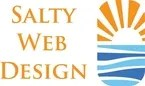 salty web design logo