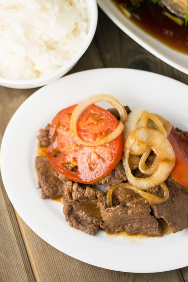 Bistek (Filipino Beef Steak) - Salu Salo Recipes