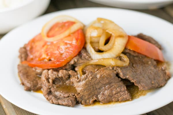 Bistek (Filipino Beef Steak)