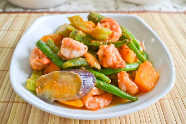Pinakbet (Filipino Shrimp and Vegetable Stew)