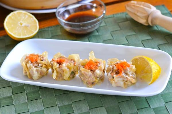 Steamed Pork and Shrimp Dumpling