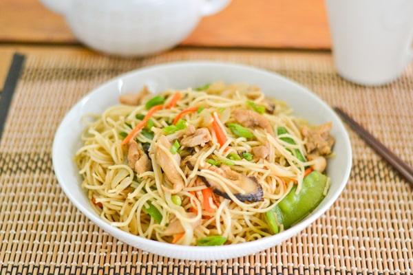 Chicken chow mein salu salo recipes chicken chow mein freerunsca Gallery