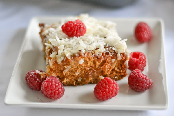 Fruit Flan Cake Without Eggs