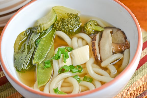 how to make an easy udon soup