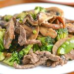 Steak Stir Fry with Mushrooms