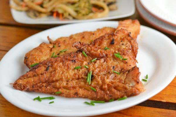 Pan fried soy fish salu salo recipes for Good fried fish near me