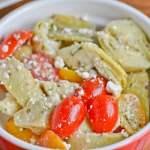 Artichoke and Cherry Tomato Salad