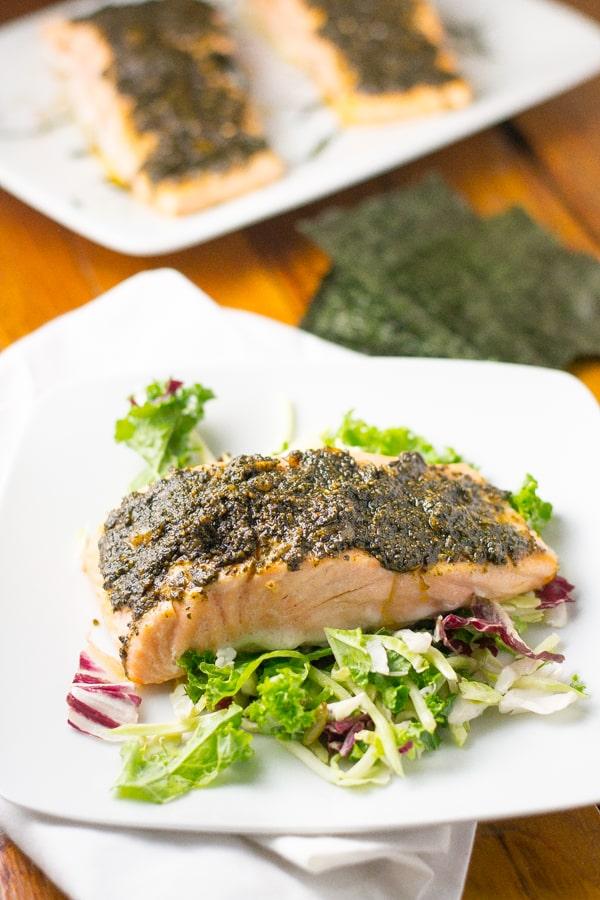 Nori Crusted Salmon