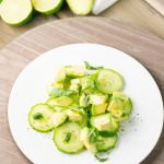 Simple Avocado Cucumber Salad