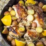 Skillet Chicken Breast with Rosemary & Lemon