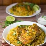 Turmeric Chicken and Rice