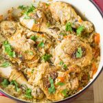 Chicken Paprika with Rice