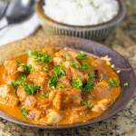 Creamy Mild Chicken Curry