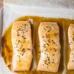 Maple Sesame Baked Salmon
