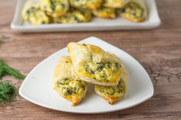 Spinach Puffs