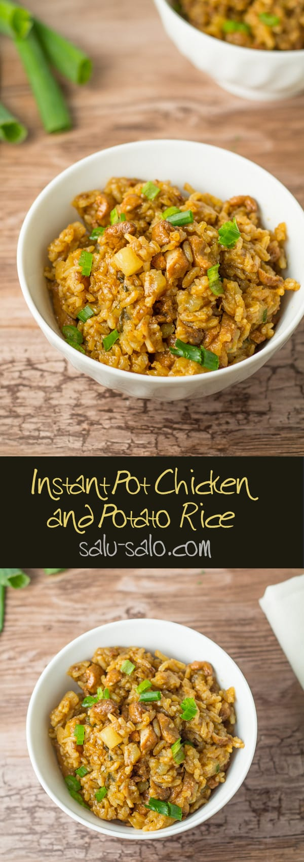 Instant Pot Chicken and Potato Rice
