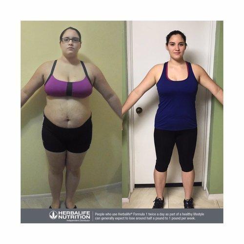 bajar de peso con herbalife testimonios