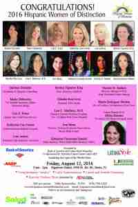 Hispanic Women of Distinction