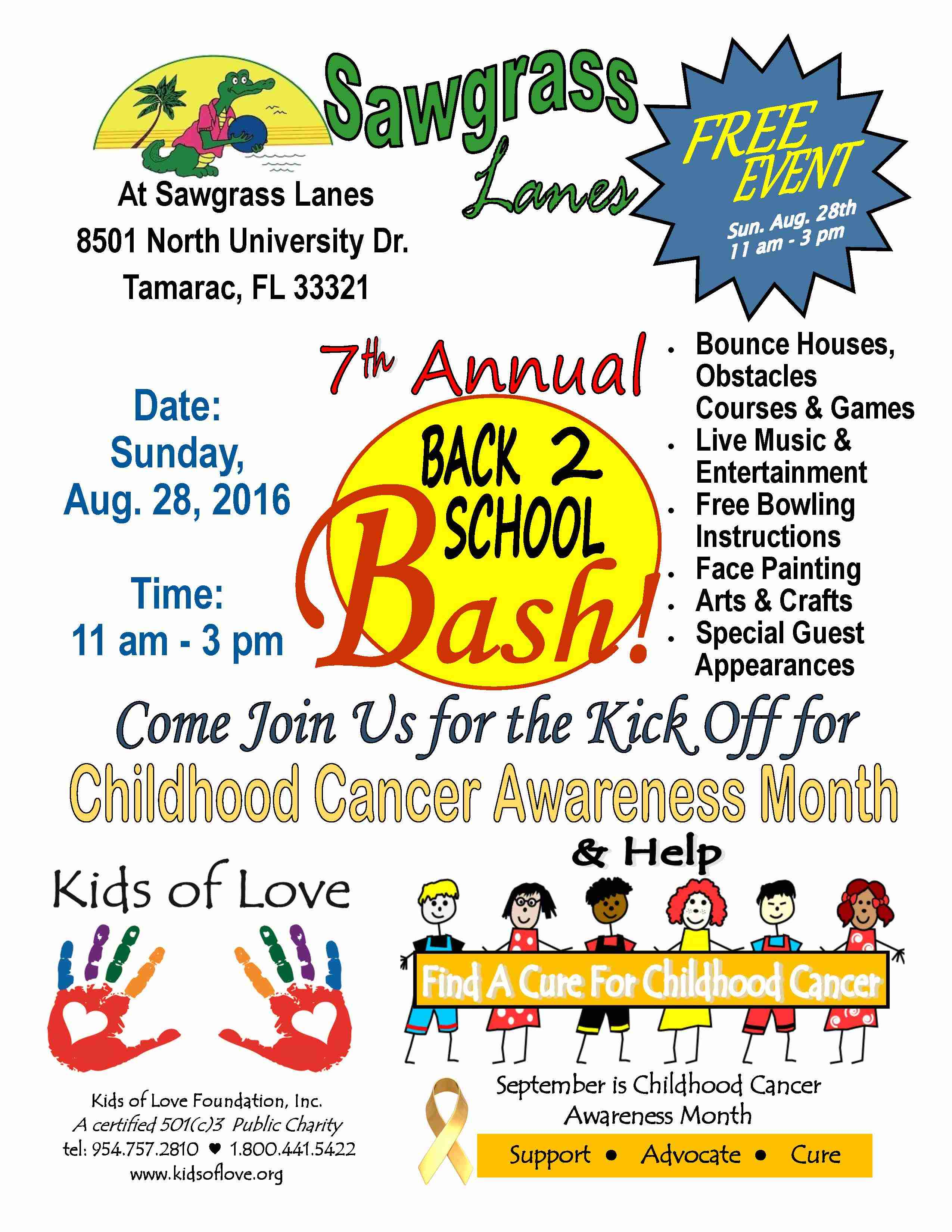 7th Annual Back 2 School Bash