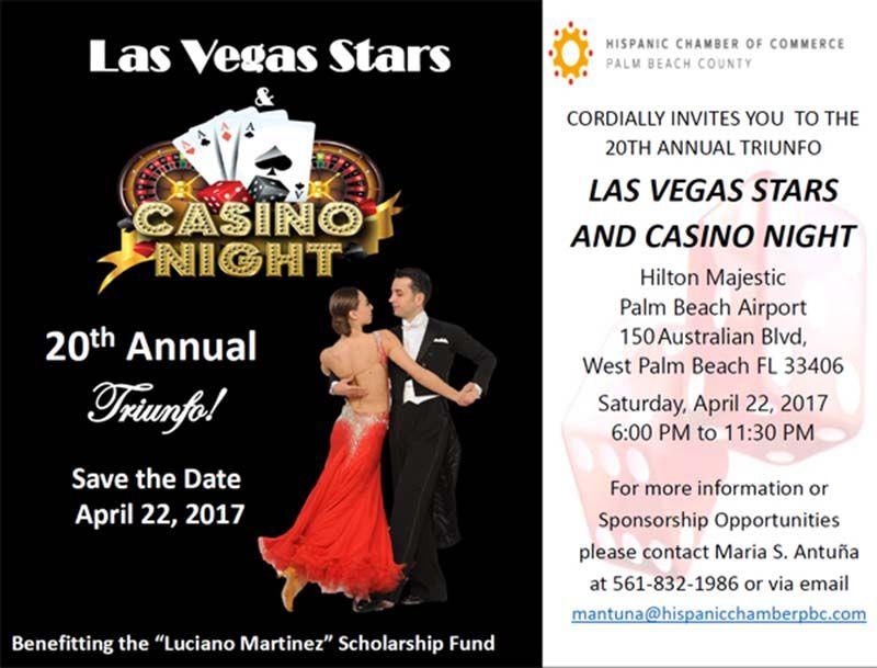 Las Vegas Stars and Casino Night