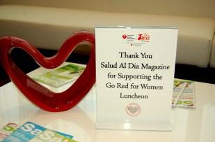 SALUD al dia magazine supporting GRFW Luncheon
