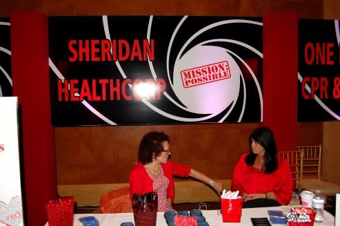 Sheridan Healthcare Booth