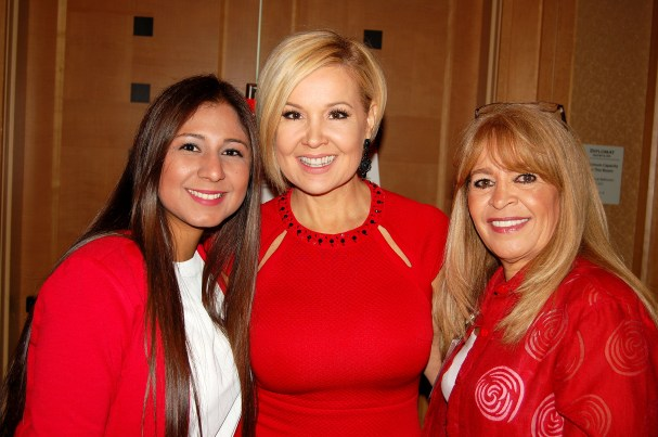 Jessika Gonzales, Sandra Peebles (Univision 23) & Katty Guanipa