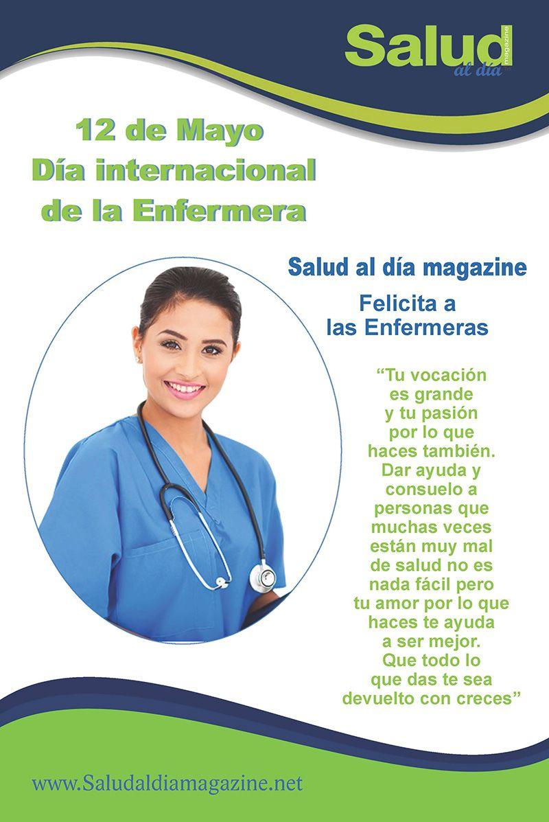 12 de Mayo Día Internacional de la Enfermera