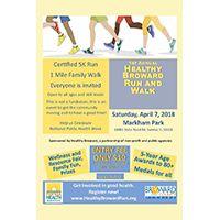 1st Annual Healthy Broward Run and Walk