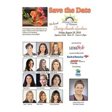 Paréntesis, Hispanic Women of Distinction Save the Date 2018