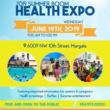 2019 Summer Boom Health Expo
