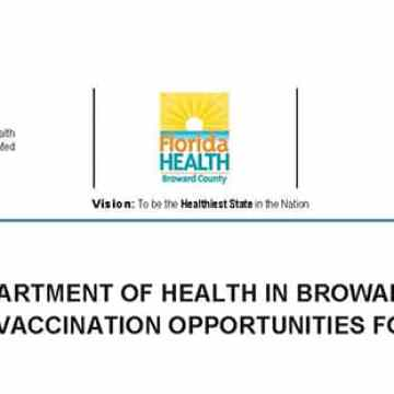 Vaccination opportunities for Seniors 65 and over