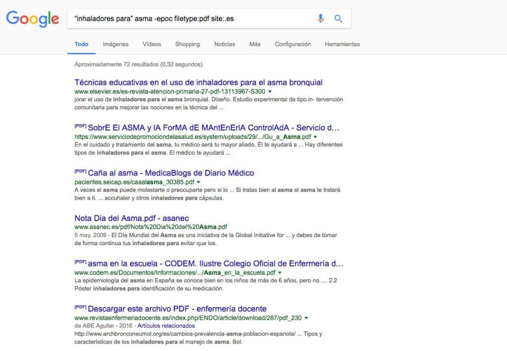 combinacion trucos busqueda google