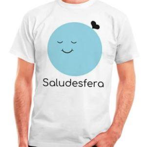 camiseta hombre saludesfera