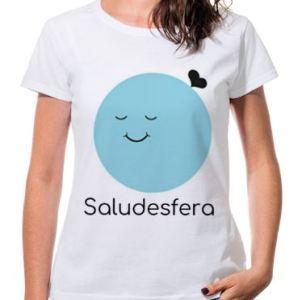 camiseta mujer saludesfera