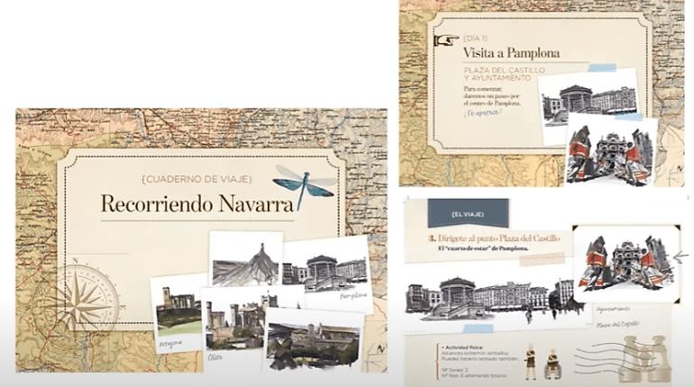 Cuaderno de viaje Área Geríatría C.H. Navarra