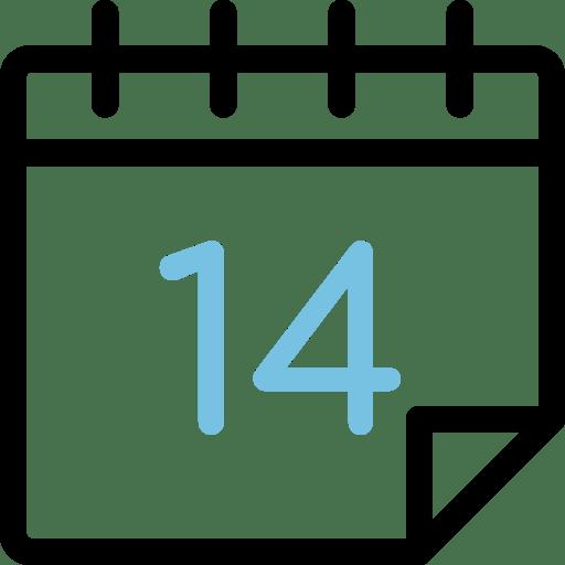 Calendario día 14