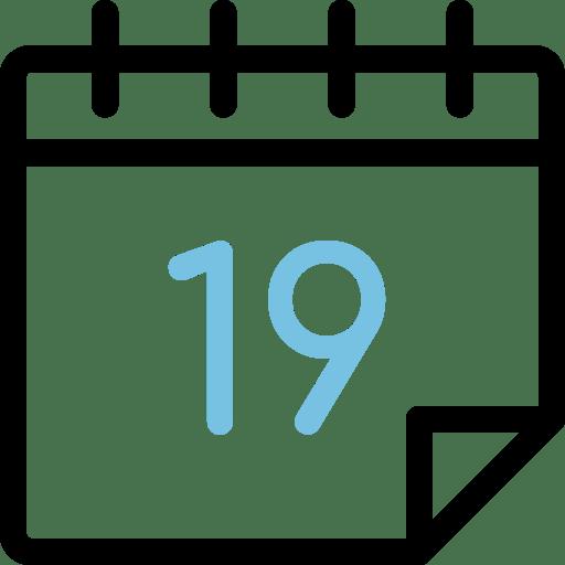 Calendario día 19