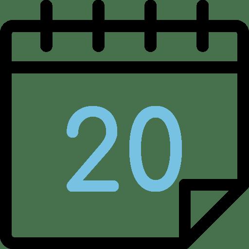 Calendario día 20
