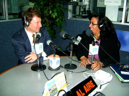Dr. Jaime Belkind Gerson y Dra. Irma Quintanilla