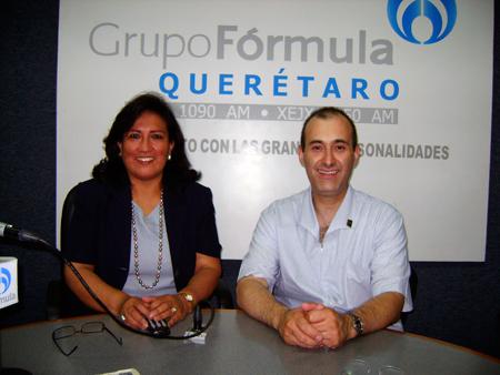 Dra. Irma Quintanilla y Dr. Jorge Vázquez Carpizo