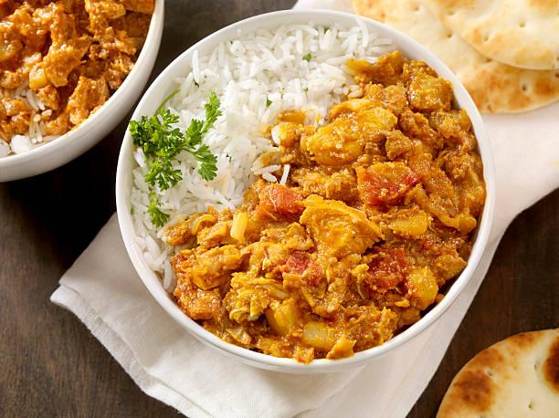 arroz con carne y cúrcuma