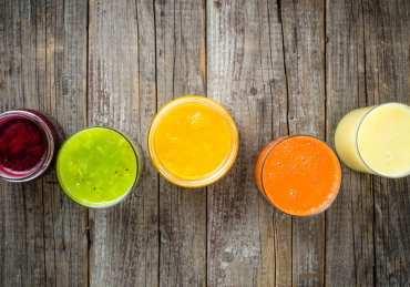 5 batidos de colores para afrontar cada día de la semana